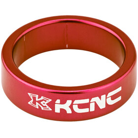 "KCNC Headset Spacer 1 1/8"" 10mm red"